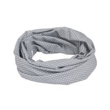 LÄSSIG - Šátek Twister Splash&Fun polka dots grey