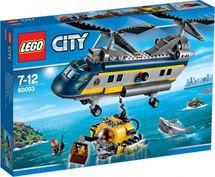 LEGO - City 60093 Vrtulník pro hlubinný mořský výzkum