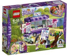LEGO - Friends 41332 Emma a její umělecký stojan