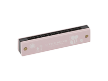 LITTLE DUTCH - Foukací harmonika pink