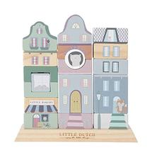 LITTLE DUTCH - Kostky město modré