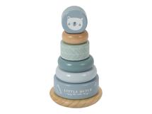LITTLE DUTCH - Nasazovací kroužky blue