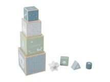 LITTLE DUTCH - Skládací věž blue