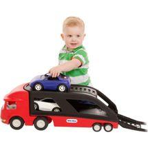 LITTLE TIKES - 484964 Tahač s návěsem na přepravu aut