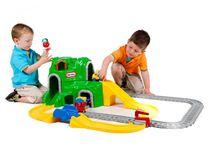 LITTLE TIKES - Sada autodráha a železnice s tunelem