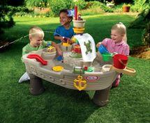 LITTLE TIKES - Vodní stůl Pirátská loď 628566