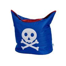 LOVE IT STORE IT - Taška na prádlo Piráti - modrá s pirátem