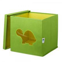 LOVE IT STORE IT - Úložný box na hračky s krytem a okénkem - želva