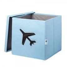 LOVE IT STORE IT - Úložný box na hračky s krytem a okénkem - letadlo