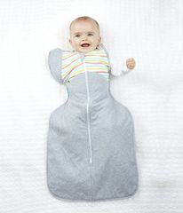 LOVE TO DREAM - Rychlozavinovačka Swaddle Up 50/50 Winter, Multi Stripe 6 - 8,5 kg