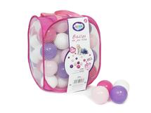 LUDI - Míčky růžové / fialové 75 ks
