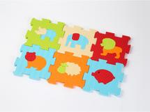 LUDI - Puzzle pěnové 46,5x31,5 cm zvířátka