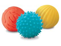 Senzorické míčky 3 ks malé