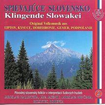 Ľudové piesne Stredné Slovensko- Spievajúce Slovensko 2 - Kolektív autorov