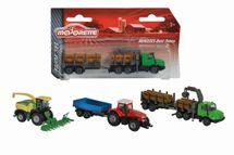 MAJORETTE - Farmářské Vozidlo Kovové Farm Set, 3 Druhy