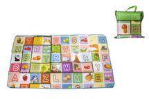MAKRO - Dětský koberec 100 x 180 x 0,5 cm - mix