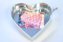 MAKRO - Forma na tortu s dvoma sponami - srdce