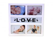 MAKRO - Fotorámeček LOVE na 4 fotky