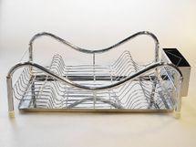 MAKRO - Nerezový odkapávač na nádobí 47 x 32 cm