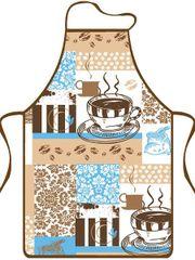 MAKRO - Zástěra kuchyňská Cappuccino 9116