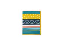 MAMAS & PAPAS - Pletená deka různobarevné pruhy