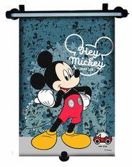 MARKAS - Stínítko na okno auta stahující 1 ks Mickey Mouse