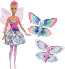 MATTEL - Barbie Létající Víla S Křídly Běloška