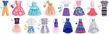 MATTEL - Barbie Šaty s doplňky - Mix - 1 balení