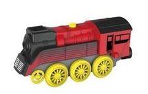 MAXIM - Elektrická lokomotiva nákladní červená 50860