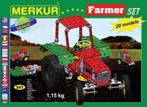 MERKUR - Stavebnice Farmer set
