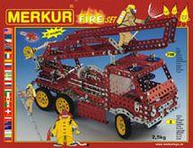MERKUR - Stavebnice Fire set