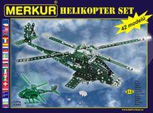 MERKUR - Stavebnice Helikopter set