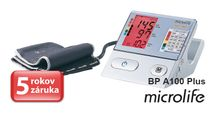 MICROLIFE - BP A100 Plus automatický tlakoměr na rameno