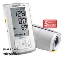 MICROLIFE - BP A6 PC Afib automatický tlakoměr na rameno