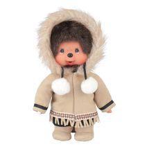 MONCHHICHI - Mončiči chlapec z Aljašky 20cm