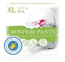 MONPERI - Jednorázové kalhotky 13-18 kg Pants XL (balení 18 kusů)