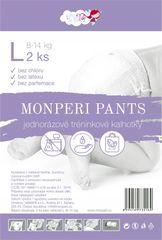 MONPERI - jednorázové kalhotky 8-14kg, kalhotky Pants L - 2ks