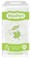 MONPERI - jednorázové pleny 12-16 kg, pleny ECO comfort XL