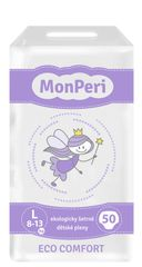 MONPERI - jednorázové pleny 8-13 kg, pleny ECO comfort L