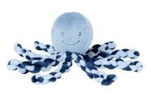 NATTOU - První hračka miminka chobotnička PIU PIU Lapide navy blue 0m +