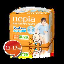 """NEPIA - Dětské kalhotkové pleny """"XL"""" (12-17kg) 26 ks"""