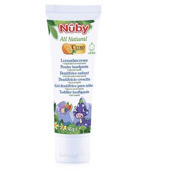 NUBY - Pasta zubní destká All Natural 45g