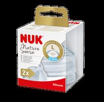 NUK - Nature Sense savička V2, L, 2ks