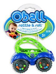 Oballo - Hračka autíčko Oballo, 0m + modrá