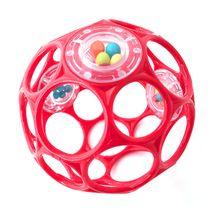 OBALL - Hračka OBALL RATTLE 10 cm 0m+ red