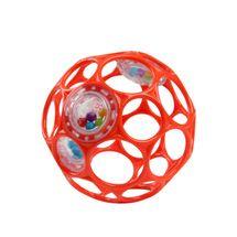 OBALL - Hračka RATTLE 10 cm 0m+ orange