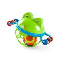 Oballo - Hračka žabka Oballo Jingle & Shake Pal 0m +