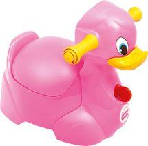 OK BABY - Nočník Quack ružová 66