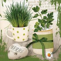 PAPER DESIGN - Papírové ubrousky Herbary