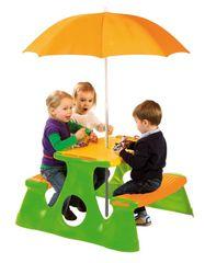 PARADISO - Piknikový stolek se slunečníkem T00759